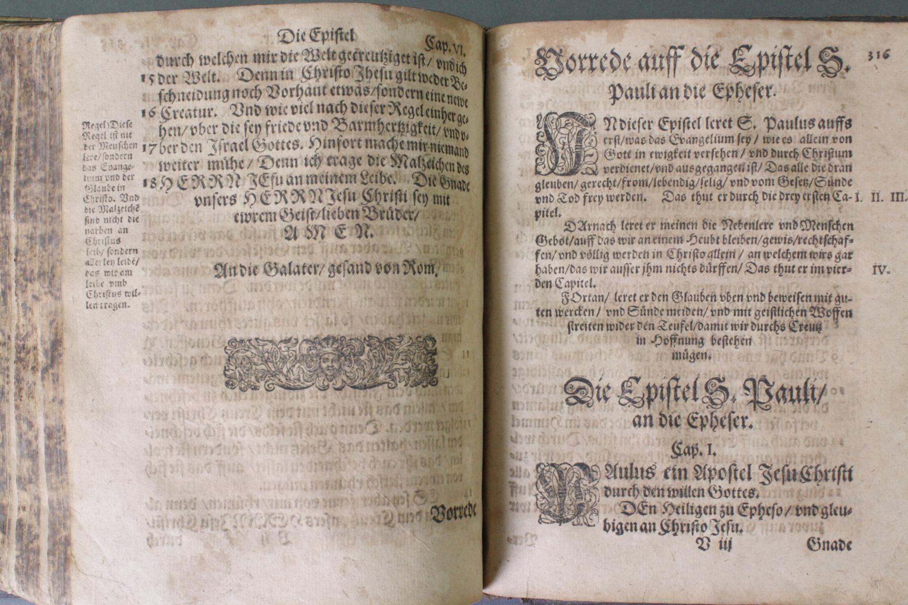 2 Bibeln 17. und 19. Jahrhundert-9