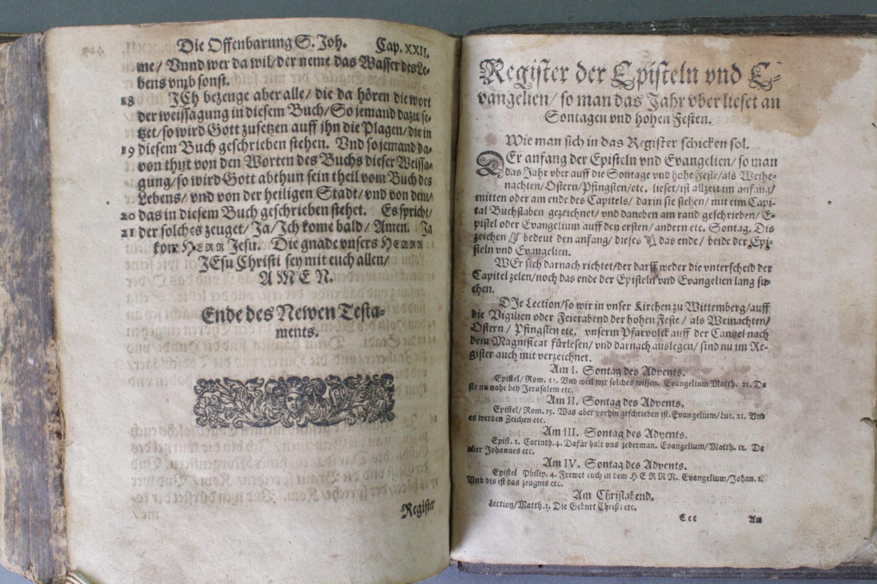 2 Bibeln 17. und 19. Jahrhundert-14