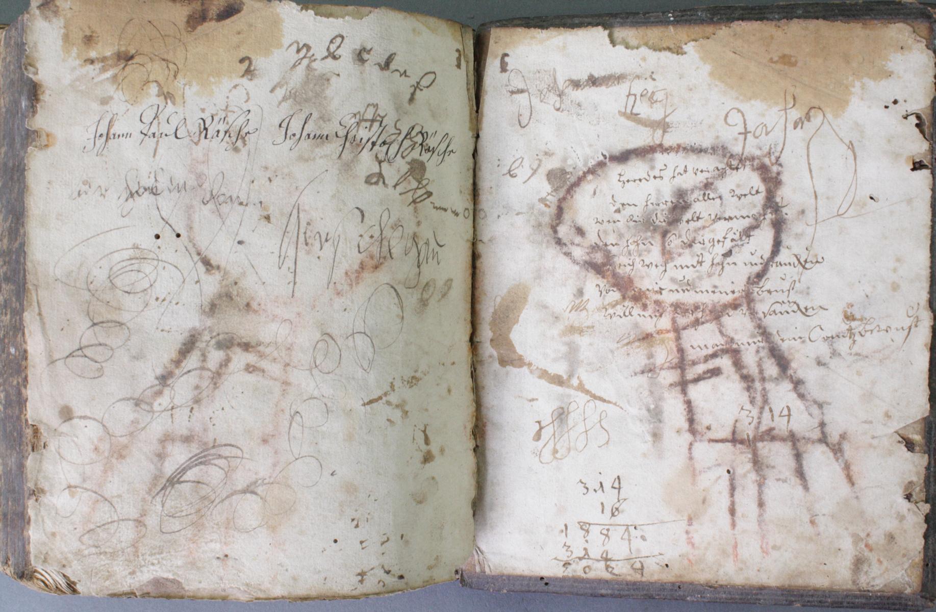 2 Bibeln 17. und 19. Jahrhundert-16