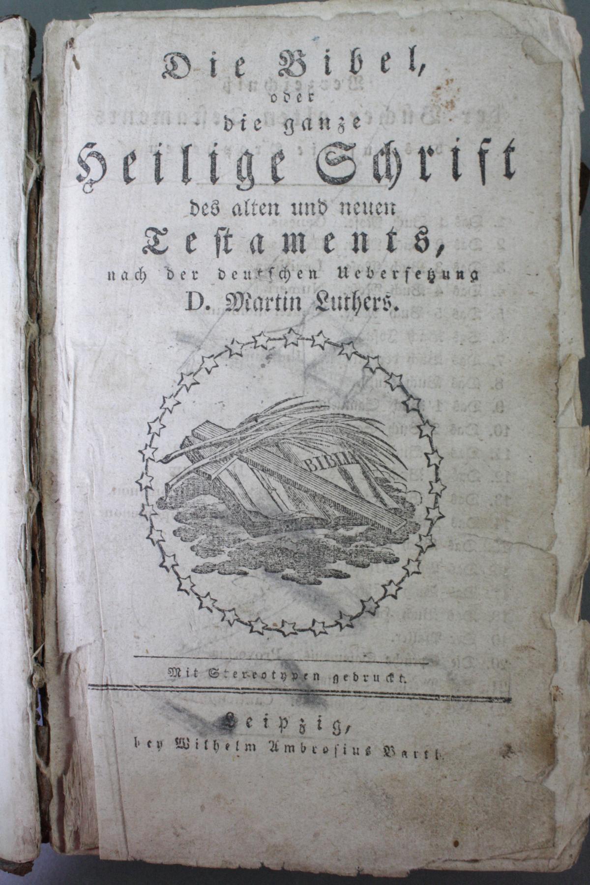 2 Bibeln 17. und 19. Jahrhundert-18