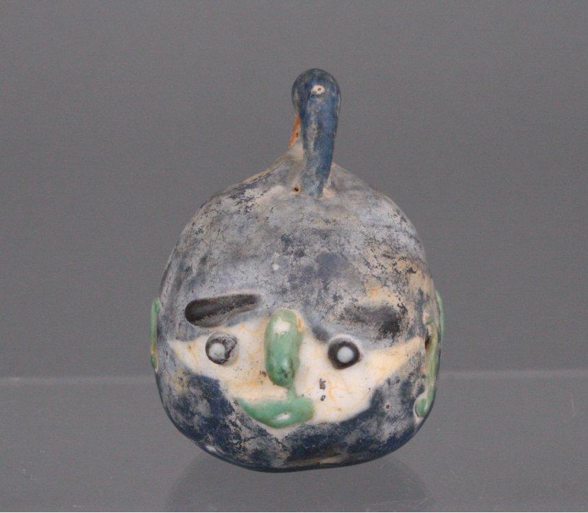 Glasskulptur aus Syrien, wohl 3. 4. Jahrundert vor Christus