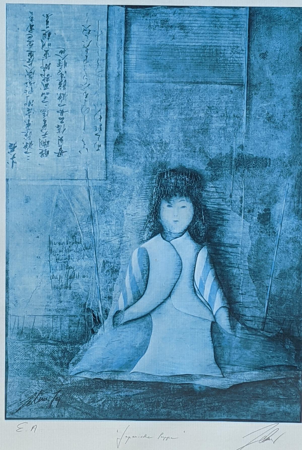 Wolfgang Zelmer (1948). 'Japanische Puppe'