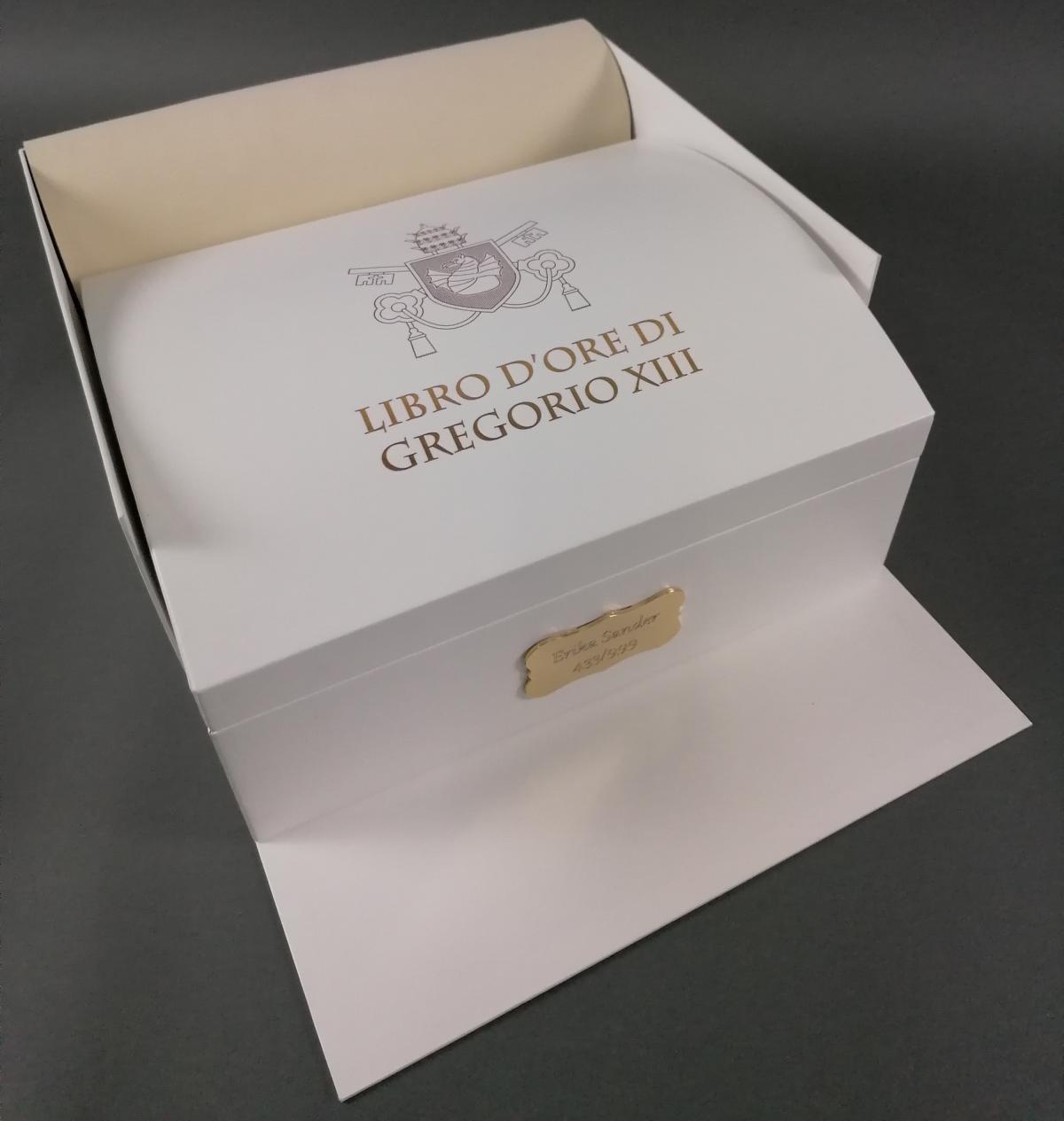 Faksimile Edition. Libro d'Ore di Gregorio XIII – Artcodex