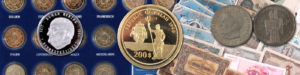 Ständiger An- und Verklauf von Münzen und Medaillen