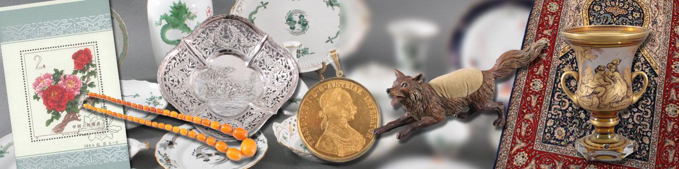 109. Auktion, meissner porzellan. goldmünzen, Wiener Bronze